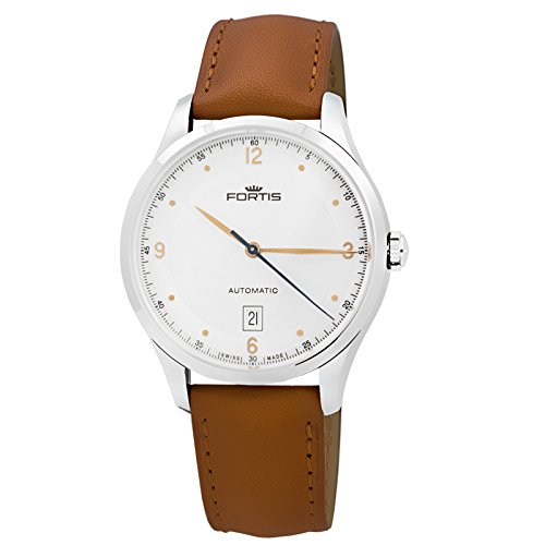 Fortis Tycoon Date Automatic Men's Watch AM 903.21.12 L.28 Swiss Made Rose Gold
