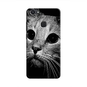 Cover It Up - Cute Cat BW V7 Plus Hard case