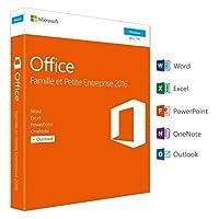 Microsoft Office Famille et Petite Entreprise 2016 | PC | Box