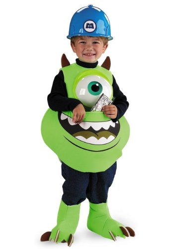 [Mike Candy Catcher Toddler Costume - Toddler Large] (Child Catcher Fancy Dress Costume)
