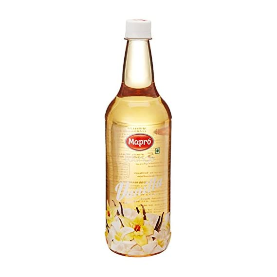 Mapro Vanilla Flavoured Fruit Syrup, 1L