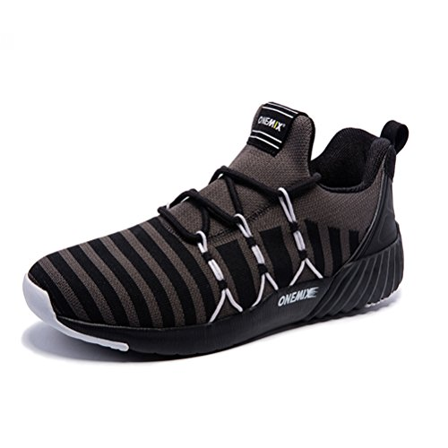 YiDiar Men's Fashion Trail Running Shoes Gym Athletic Outdoor Trainers Road Jogging Walking Sneakers - Mens Running Shoes 9e