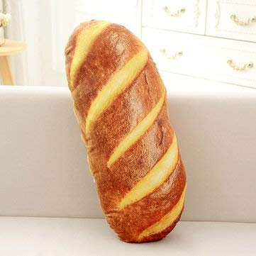 Creative Simulational Plush Bread Steak Pizza Shape Pillow Plush Nap Cushion Birthday Gift - Pillows & Cushions Funny Pillows - (#2) - 1 x Food Shape -
