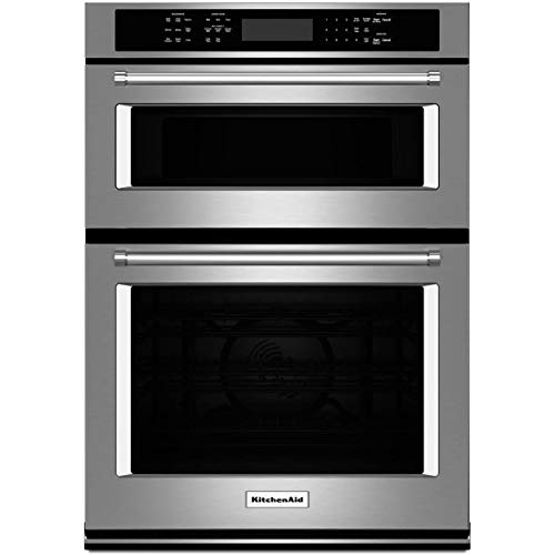 Price comparison product image Kitchen Aid KOCE500ESS 30 Double Electric Wall Oven with 5.0 cu. ft (Renewed)