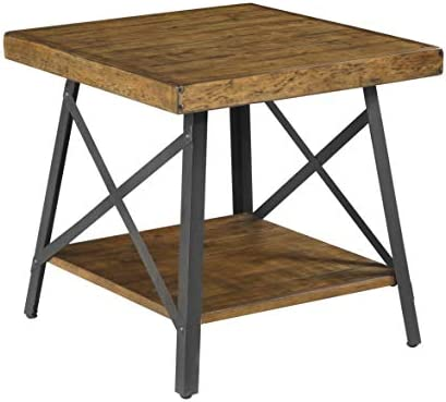 Emerald Home Chandler Rustic Wood End Table