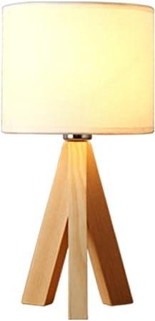 prix le moins cher nouvelle arrivee acheter en ligne Lampe De Table Lampe De Chevet En Bois Art Led Lampe ...