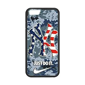 At-Baby Team Logo New York Yankees Pattern Samsung Phone Case For iPhone 6 4.7'
