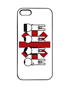 Flexible Rock Band Logo Design Phone Fundas/Case - Iphone 5/5s Fundas/Case Red Hot Chili Peppers Band Logo for Teen , Hard Back Iphone 5/5s Phone Fundas/Case Logo Design Quotes
