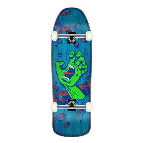 Santa Cruz Skateboard Wall Hand Preissue Old School Shape ()