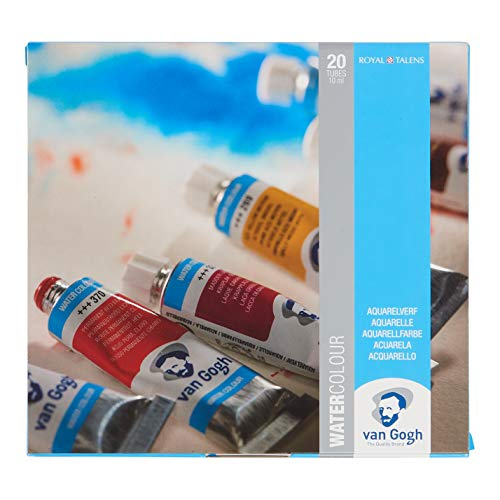 Van Gogh Watercolor Paint Set, 20x10ml Tube Set (Best School Uniform In India)