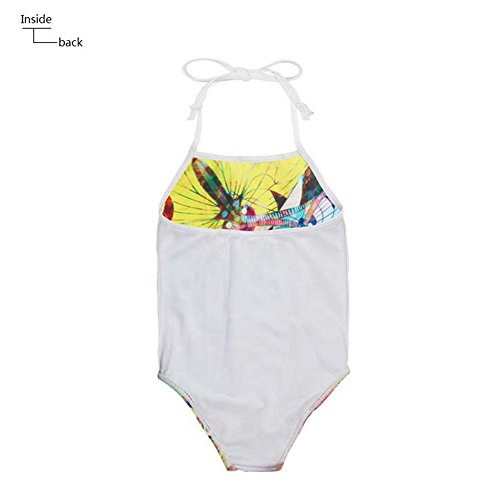 Sannovo Boxer Dog Print One Piece Animal Swimsuit for Girl Cute Bathing Suit 5T-6T by Sannovo (Image #4)
