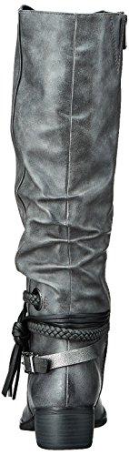 Marco Tozzi Women's 25507 Boots, Grey Grey (Dk.grey A.comb 226)