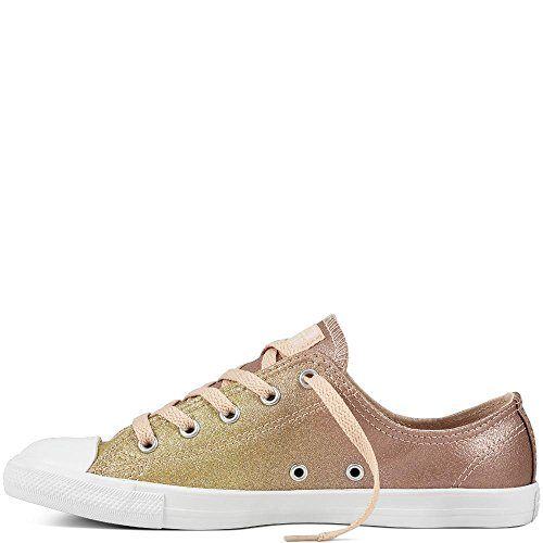 gold Fitness white Chaussures Synthetic Chuck Dainty Taylor particle De Beige Or 717 Ox Femme Converse Ctas 8UqPwH8