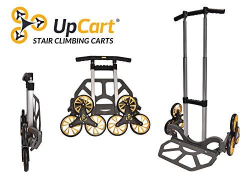UpCart Lift 200lb Capacity Stair Climbing Folding Hand Truck (Liftkar Hd Heavy Duty Stair Climbing Truck)