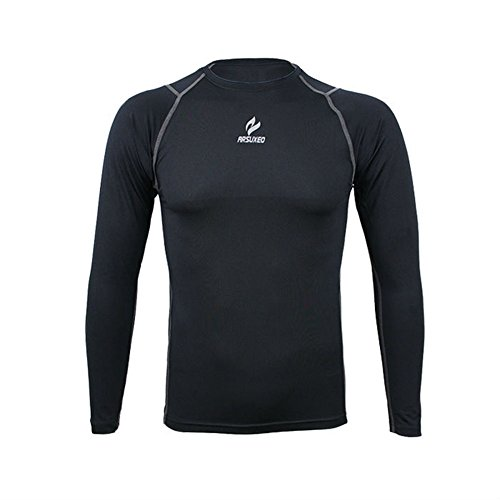 BD Men Compression Tights Shirt Top Fitness Running Cycling