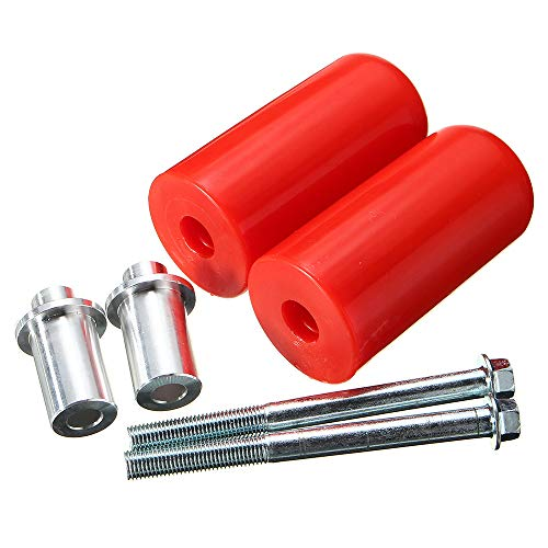 Aprilia Frame Sliders - Carrfan Universal Motorcycle Frame Sliders Anti Crash Protector for Yamaha Suzuki Kawasaki Triumph Aprilia