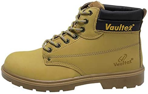 bb686c4b78d9f Safety Shoes High Ankle Executive: Amazon.com: Jahangir125