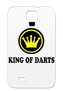 Miscellaneous Darts Sports Yellow For Sumsang Galaxy S4 Protective Hard Case