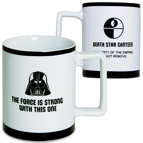 Star Wars Mug - Darth Vader Imperial Porcelain Coffee Cup -...