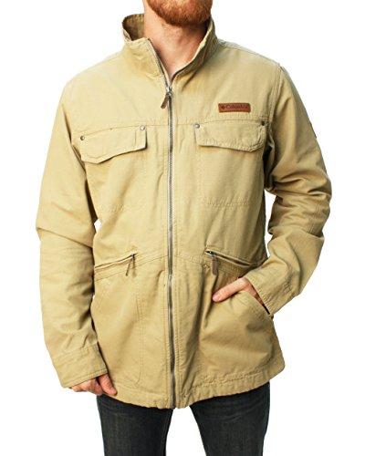 r Ridge Jacket-Khaki-Medium ()