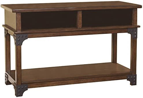 Ashley Furniture Murphy Console Console Table in Medium Brown