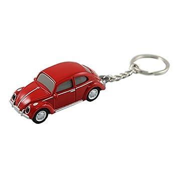 Amazon.com: VW Volkswagen Escarabajo clásico luz llavero ...