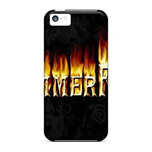 ErleneRobinson Iphone 5c Protective Hard Cell-phone Case Customized HD Hammerfall Band Series [RBS7572hxfG]