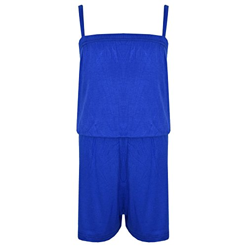 A2Z 4 Kids® Girls Jumpsuit Kids Plain Color Trendy Playsuit All In One Jumpsuits 5-13 Years by A2Z 4 Kids®