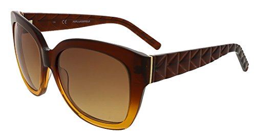 Sunglasses KARL LAGERFELD KL 866 S 010 BROWN - Lagerfeld Sunglasses