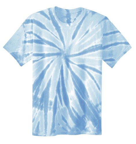 Koloa Surf Co. Youth Colorful Tie-Dye T-Shirt in Youth Sizes XS-XL Light Blue