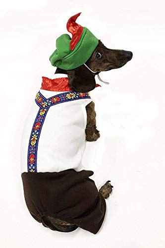 Midlee Oktoberfest Dog Costume (Boy, 8