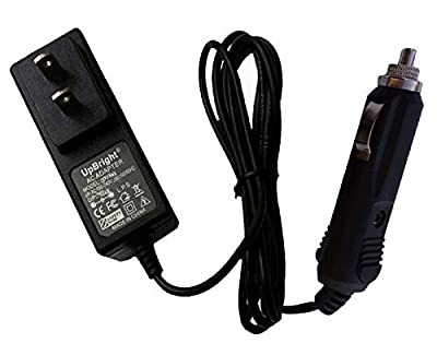 UpBright Cigarette Lighter Plug AC/DC Adapter for PowerStation PSX1004 Jumpstarter & Portable Power Source PSX1004IN Automotive Battery Jump Starter Item No. 1078579 Power Station Supply Charger