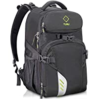 TUBU Video Camera Backpack Fit 2 Pro-Sized DSLR/SLR...