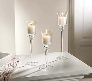 3 glaskerzenh windlicht soporte de edad portavelas para - Soporte para velas ...