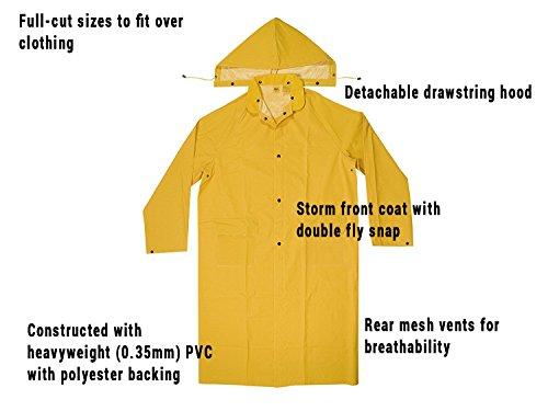 35 Clc Pvc Kunr105xxl Wear nbsp;mm Cappotto Rain gwxqSEHwfa