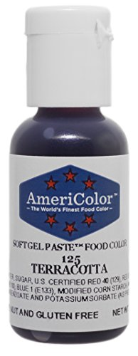 Americolor Soft Gel Paste Food Color.75-Ounce, Terracotta