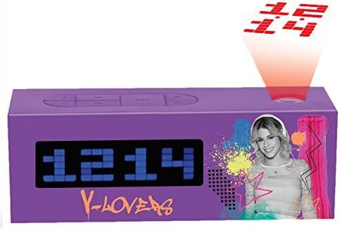 Amazon.es: Violetta RP025VI Radio Despertador Proyector (Lexibook