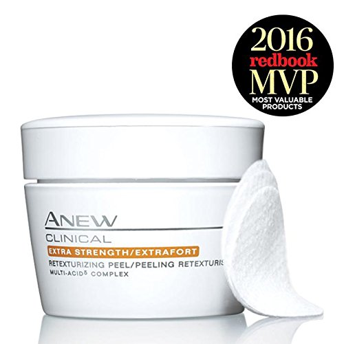 Avon ANEW CLINICAL Extra Strength/Extrafort Retexturizing Peel 30 Pads by AVON