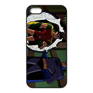 Custom Cartoon Batman Back Cover Case for iphone5,5S JN5S-251