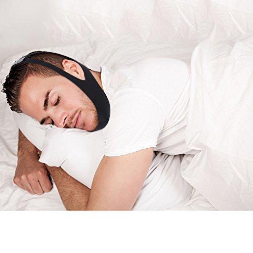 U-Kiss Stop Snore Strap Anti Snoring Chin Strap Adjustabl...