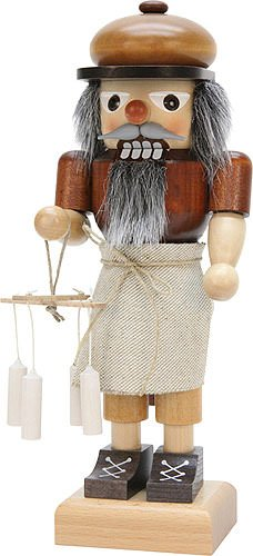 Nutcracker candle maker, natural - 25cm / 9.8inch by Christian Ulbricht