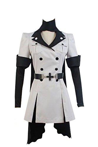 RCOS Akame ga KILL! Esdeath Empire General Apparel Uniform Outfit Cosplay Costume Male - Ga Lady Ga Costumes