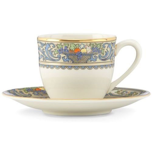Lenox Autumn Demitasse Cup and Saucer