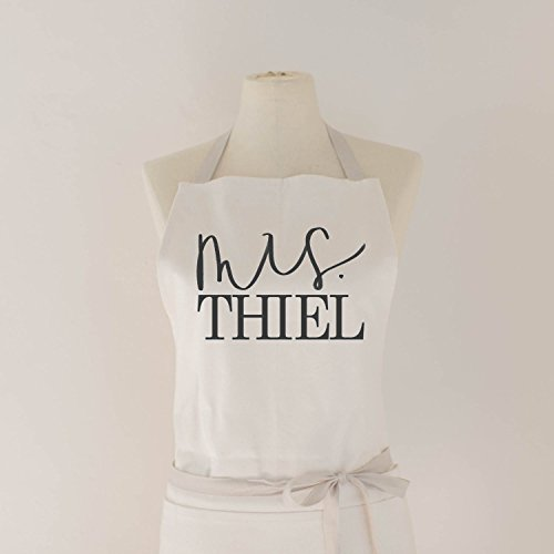 Personalized Kitchen Aprons (Personalized Apron, Mrs. Apron, Handmade in the USA, present, housewarming gift, kitchen decor)