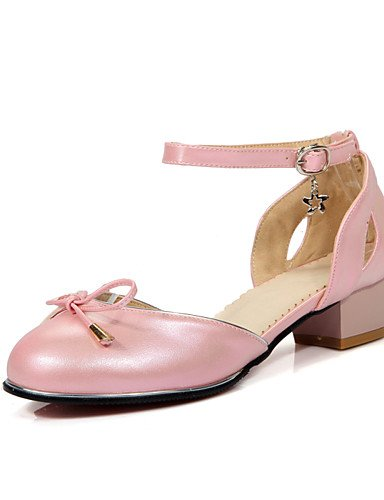 pink tacón ocasionales GGX de de PU uk8 oficina zapatos redonda bowknot cn43 tacón de 5 bajo eu42 5 las 5 mujeres cn37 verano uk4 punta eu37 7 us10 5 us6 YHUJI 5 pink black la cn43 amp; de del us10 nbsp;carrera zapatos uk8 eu42 5 5 gBdwRR