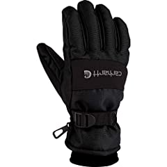 The Carhartt wp glove does a great job of kipping you warm and dry as it is waterproof and sweat wicking