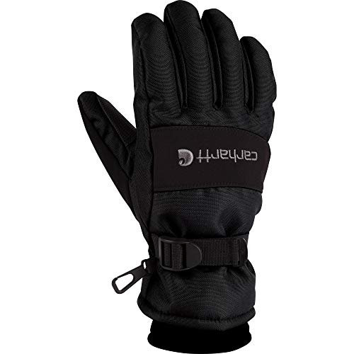 Carhartt Men's W.p. Waterproof Insulated Work Glove, Black, X-Large (Best Cross Country Motorcycle)