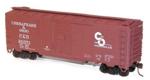 Accurail HO AAR 40' Single-Door Steel Boxcar - Chesapeake & Ohio (Boxcar Aar Single Door)