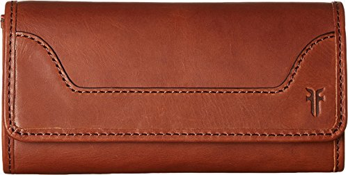 Frye Women's Melissa Zip Wallet Medium Brown One Size by FRYE