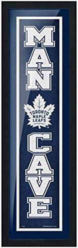 Toronto Maple Leafs 6x22 Team Man Cave Framed Artwork